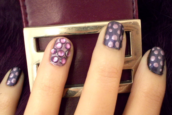 Polish Up Nail Art Challenge – Theme #8 – Polka Dots – PROMAKEUPME