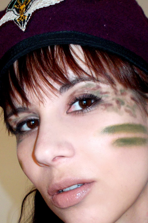 Salsa Makeup Adventures Army Camo Party