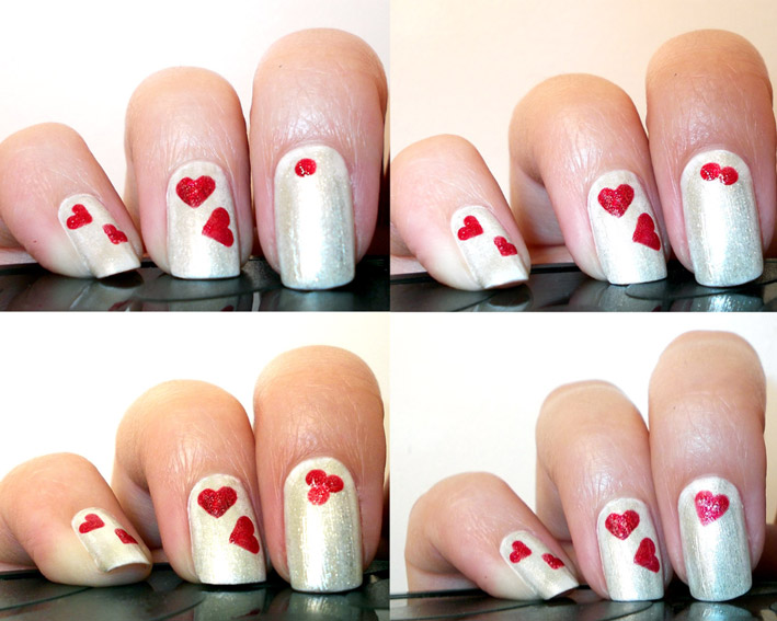 Valentines Day Nail Art – PROMAKEUPME