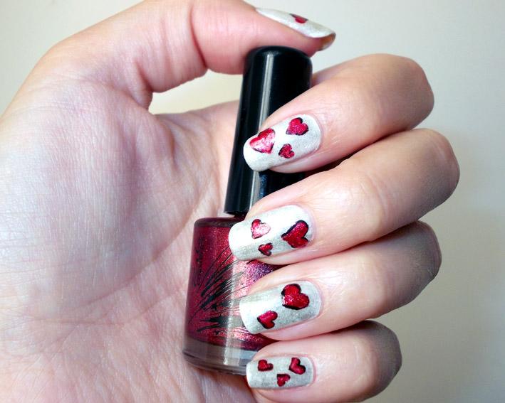 Valentines Day Nail Art Promakeupme