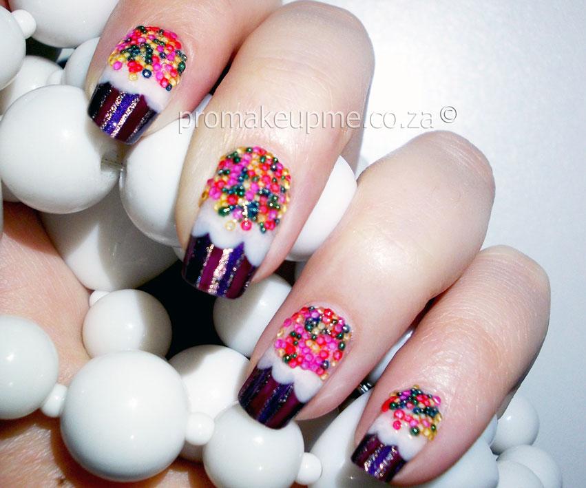 Cupcakes Nail Art Promakeupme