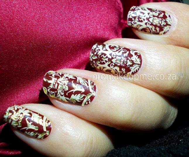 Royal Burgundy 3D Jewel Nail Art Appliqués – PROMAKEUPME