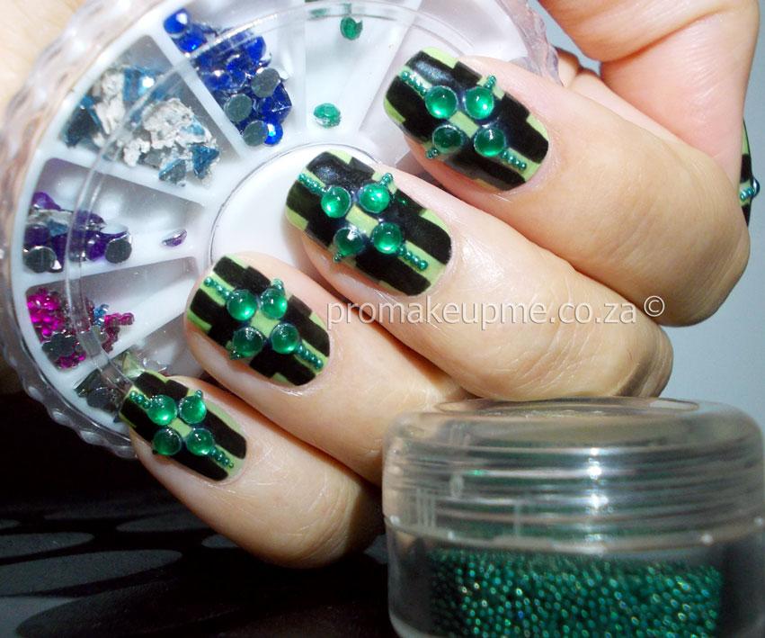 Nail Art 101 Gemstones Rhinestones Promakeupme