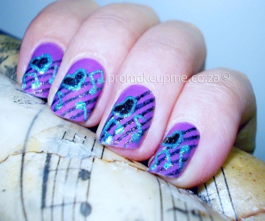 Music Notes Nail Art Promakeupme