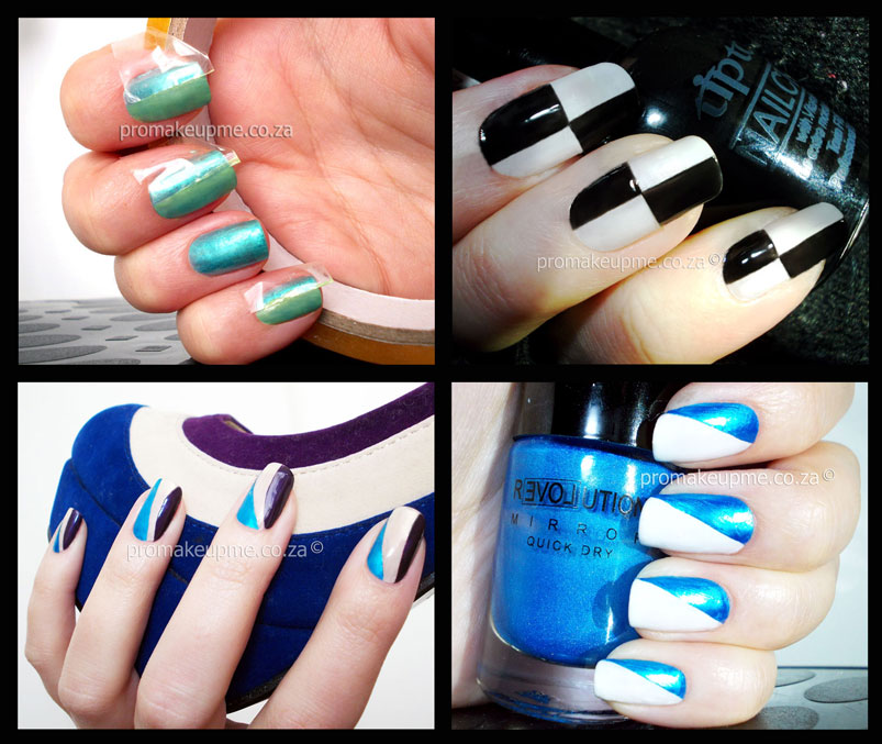 Nail Art 101- Scotch Taping – PROMAKEUPME