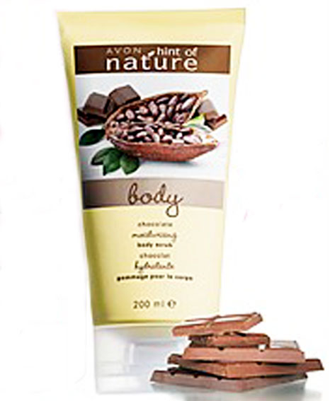 Spoil yourself with some chocolate beauty products this avon chocolate moisturising body scrub solutioingenieria Gallery